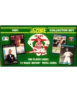 1991 Score Baseball Cards Complete Factory Sealed Set of 900 Cards  - $44.05