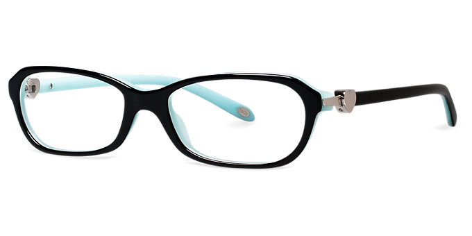 Tiffany Glasses Frames New York : New Authentic Tiffany & Co. TF2034 8055 Black Blue ...