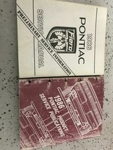 1986 Pontiac FIERO Service Shop Repair Manual Factory Set W Publications... - $98.99