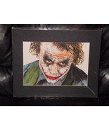 Batman Heath Ledger Joker Matted Print 16 X 20 Brand New - $24.99