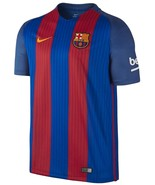 Nike FC Barcelona Home Soccer Football Stadium Men's 2016/2017 Jersey Size - $44.54