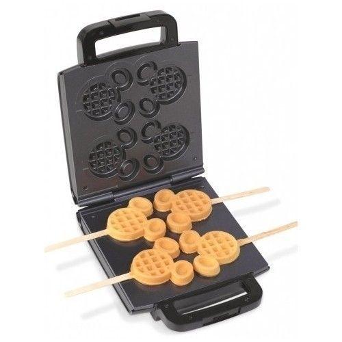 Disney Waffle Maker Mickey Mouse Ears Breakfast Vintage Kitchen Free Shipping