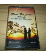 Music For Lovers Al Caiola 21 All Time Favorites Cassette SEALED - $3.99