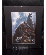 Batman The Dark Knight Rises Matted Print 16 X 20 New - $24.99