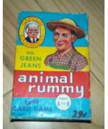 Captain Kangaroo Mr Green Jeans Animal Rummy card game - $9.99