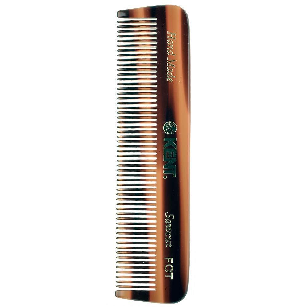 """Kent FOT 4 1/2"""" 113 mm Handmade Comb. All Fine Pocket Comb (FOT)"""