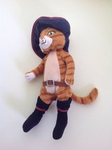Puss In Boots 9 Inch TY Beanie Babies 2007 Shrek The Third Plush Doll - $15.99
