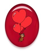 Bear Hearts Brad Red Glass-Digital Download-Cli... - $3.00