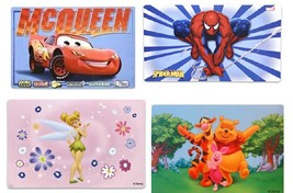 Disney Placemat Cars Spiderman Tinkerbell Princess Winne The Pooh Cinder... - $4.90
