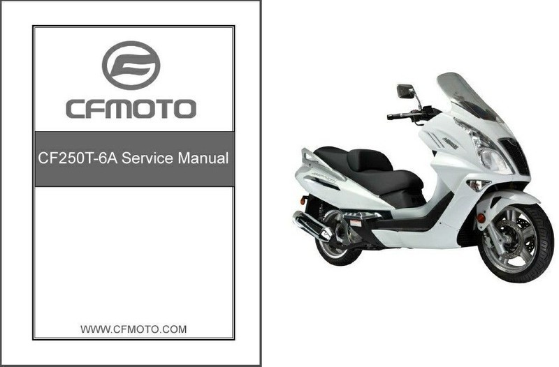 CFMoto Jetmax 250 CF250T-6A Scooter Service and 50 similar items