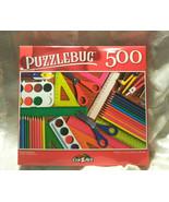 Puzzlebug 500 Piece Puzzle School Supplies Family Fun - $9.88