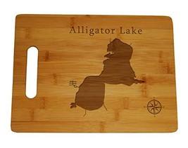 "Alligator Lake Osceola Kissimmee Map Engraved Cutting Board 9.75x13.75"" ... - $34.64"