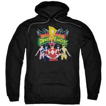 Power Rangers - Rangers Unite Adult Pull Over Hoodie Officially Licensed Apparel - $34.99+
