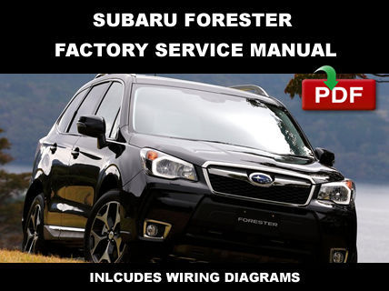 2011 2014 subaru forester factory oem service repair. Black Bedroom Furniture Sets. Home Design Ideas