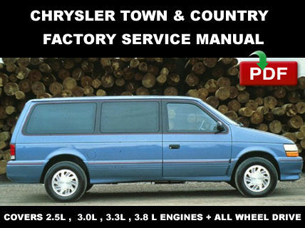 service manual repair manual 1995 chrysler town country. Black Bedroom Furniture Sets. Home Design Ideas
