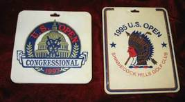 1995 1997 US Open Golf Bag Tag Congressional Shinnecock Hills Club Colle... - $24.99