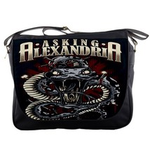 Asking Alexandria Messenger School College Rock Band Emo Bag 02 - $35.00