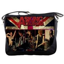 Asking Alexandria Messenger School College Rock Band Emo Bag Gift New - $35.00