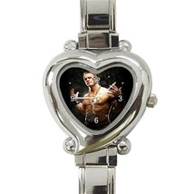 John Cena WWE  Custom Heart Italian Charm Watch-NEW - $15.00