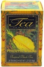 HAWAIIAN PINEAPPLE WAIKIKI BLACK TEA ~ 20 TEA BAGS - $5.93