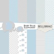 Blue elephant paper pack thumb200