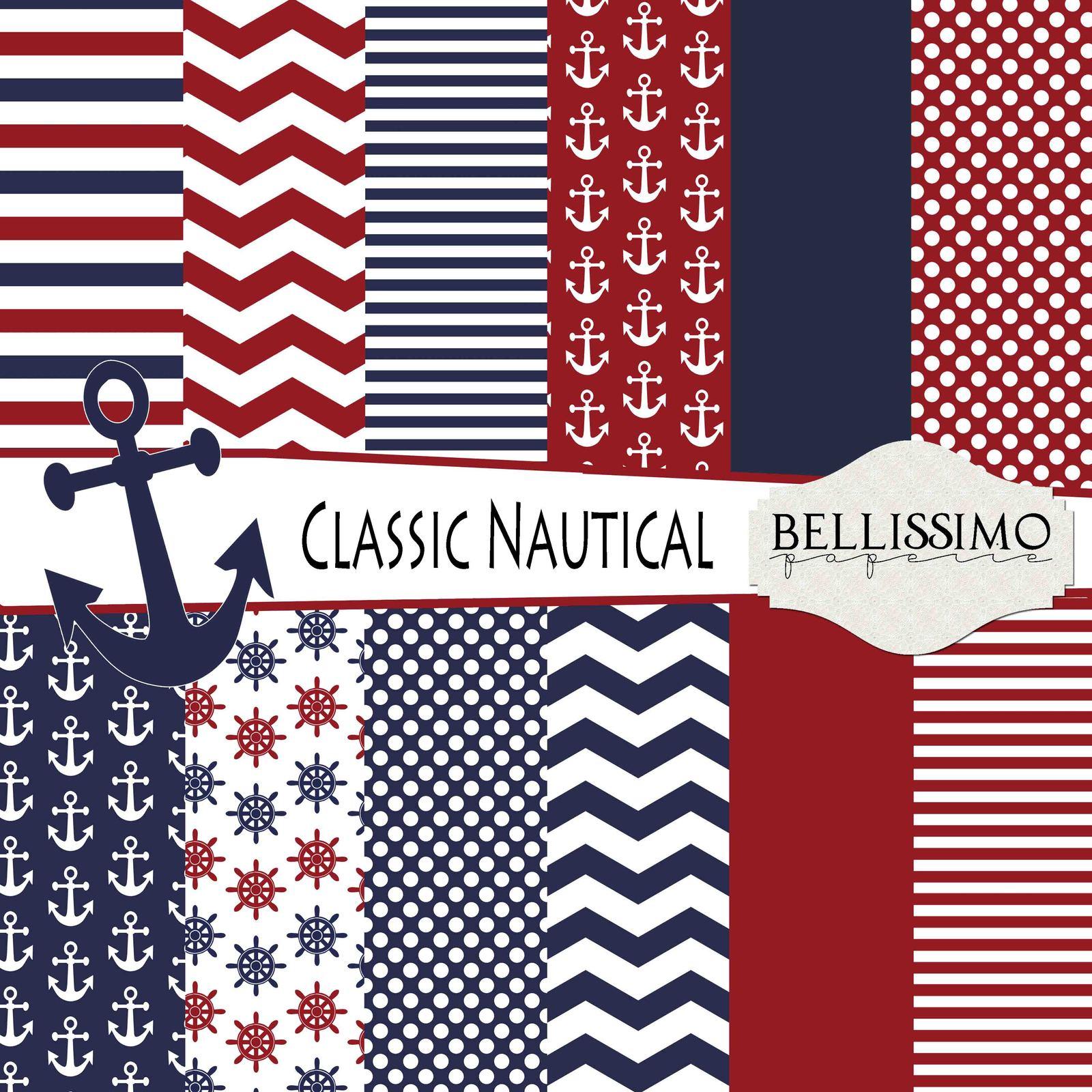 Boy   nautical paper pack