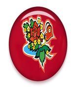 V-Day Flower Brad Red Glass-Digital Download-Cl... - $3.00