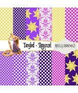 Tangled - Rapunzel - Paper Pack: Scrapbook Paper, PRINTED, 12 Sheets - $6.50
