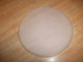 "Round Tupperware Seal Lid for Canister C or Wonderlier Bowl 6"" C - SHEER... - $19.99"