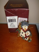 Boyds Bears Folkstone Jean Claude & Jacque The Skiers Christmas Ornament... - $15.49