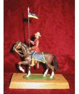 Alymer 54mm Soldier Figure 507 Royal Canadian Mounted Police on Wooden P... - $64.99