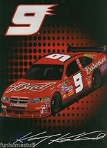 NASCAR KASEY KAHNE #9 DODGE CHARGER BUDWEISER BEER CAR SOFT PLUSH THROW ... - $49.95