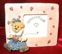 Boyds Bearstone Juliet Bearilove Have A Heart Pix Frame 82009 - $28.50