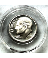2000 S Roosevelt Silver Dime - BRIGHT Low minta... - $11.99