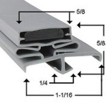 Victory  Refrigeration Door Gasket Part# GA-142 Size: 31 1/4 x 66 1/4 - $36.00