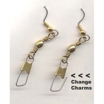 * ADD CHARMS EARRINGS * - Change/Switch Charm Gift Jewelry -M - $5.97