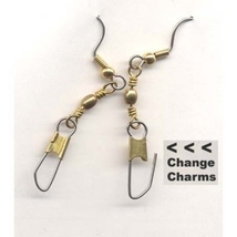 * ADD CHARMS EARRINGS * - Change/Switch Charm Gift - Jewelry -S - $5.97