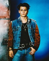 21 Jump Street Johnny Depp Vintage 8X10 Color Movie Memorabilia Photo - $6.99