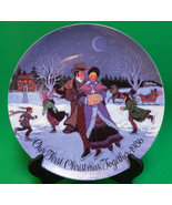 Holiday Sale!  1986 Current Inc. Collector Plate, Our First Christmas To... - $2.95