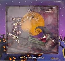 NMBC Tim Burton Touchstone Nightmare Before Christmas Jack Santa Zero & ... - $229.99