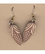 CORN COB EARRINGS-Huge Maize Farm Garden Vegetable Charm Jewelry - $5.97