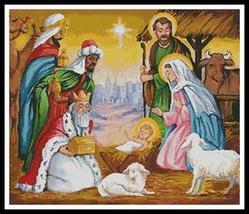 Gifts For The Newborn King cross stitch chart Artecy Cross Stitch Chart - $14.40
