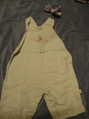 Disney classic Pooh girls  romper outfit size 18 Months