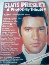 Elvis Presley A Photoplay Tribute Magazine circa 1977. Not in a good con... - $19.79
