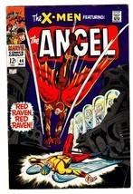 X-Men Comics #44 comic book 1968- Red Raven- Marvel Silver Age-fn- - $44.14