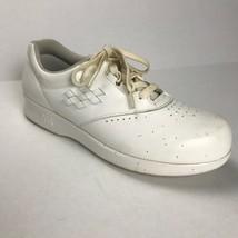 SAS Free Time Shoes Women Size 7W Leather Tripad Diabetic Walking White ... - $54.75