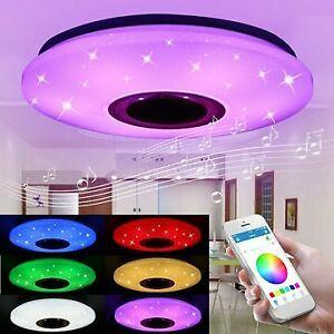 48W 102 LED RGBW Starlight Ceiling Lamp Music Light bluetooth Parlour Bedroom - $79.19