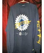 Mens Long T Shirt Puffy Design Sean P. Diddy Hip Hop 2XL Japanese Charac... - $27.50
