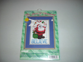 Janlynn Believe Christmas Santa Counted Cross Stitch Kit - $15.00