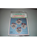 Bucilla Christmas Country Toys Ornaments Counted Cross Stitch Kit - $19.00